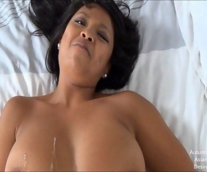 Hot Asian Girl Does It All!