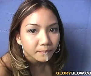 Keeani Lei Gives Blowjob To..