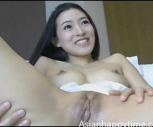 Asian Solo Masturbation..