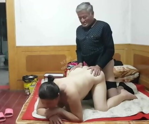 Old Chinese at a Fuckslut