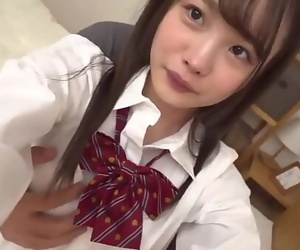 Tiny Japanese Teen With..